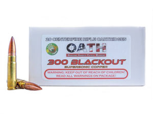 Picture of 300 AAC Blackout Match Grade // Copper // Super-Sonic